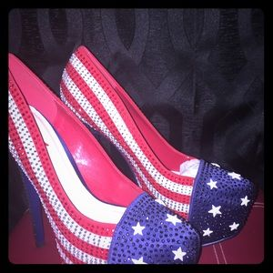 USA FLAG SHOES